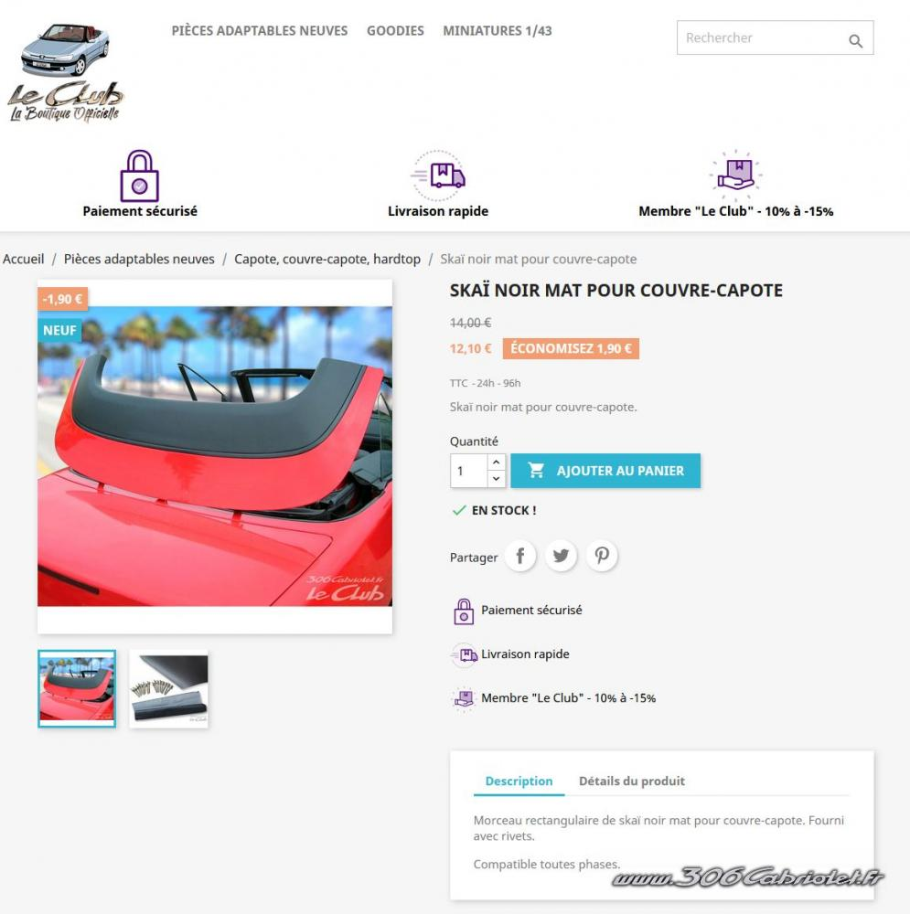 [LE CLUB ]¡Nueva tienda de repuestos del club 306 cabrio francés! + 3ª luz de freno por 99€ + ¡otras refabricaciones! Thumb1613669844_Capture