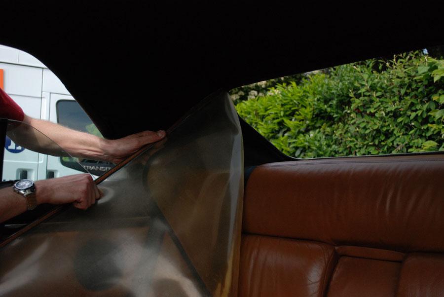 comment reparer lunette arriere cabriolet. Black Bedroom Furniture Sets. Home Design Ideas