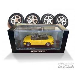 306 Cabriolet 1/43 jaune...